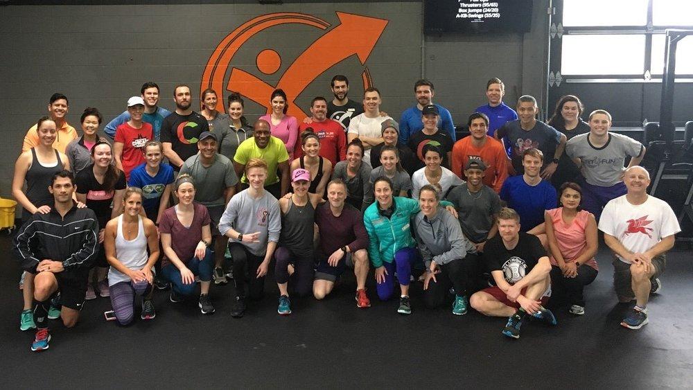 Community Run/Workout @ Experience Momentum