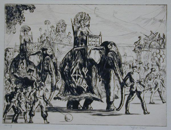 Beal, Circus Parade, etch.jpg