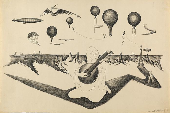 Dehner, Balloon Ascension #3