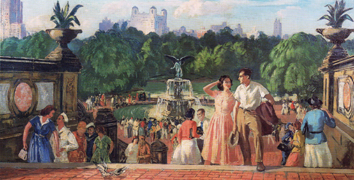 Beal, The Terrace, Central Park