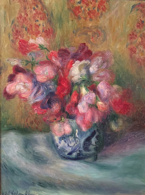 Glackens, Flowers in a Canton Ginger Jar