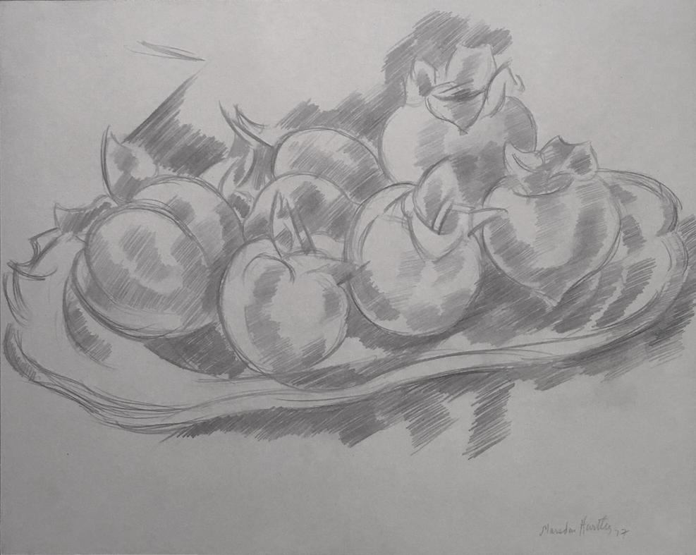 Marsden Hartely, Pomegranates