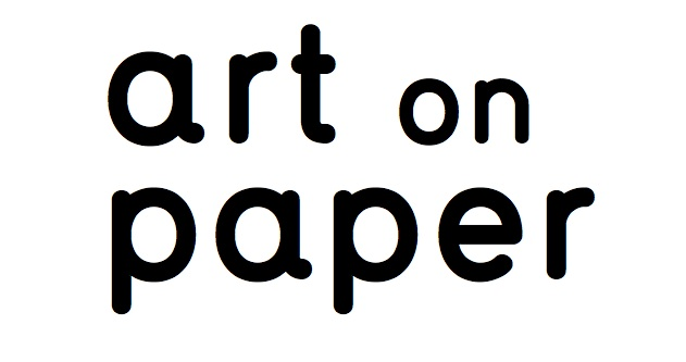 "logo reading ""art on paper"""