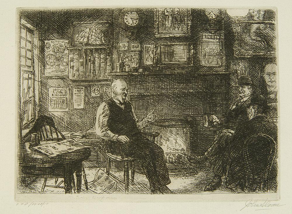 Sloan, McSorley's Back Room