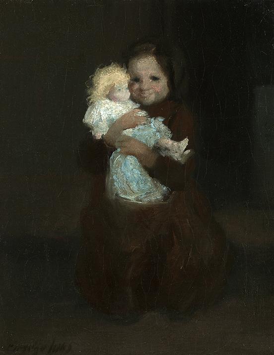 Luks, Child with Doll.JPG