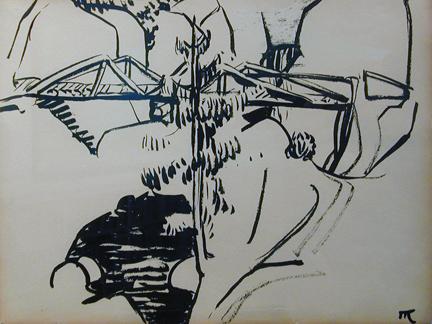 Marguerite Zorach, Bridge in the Mountains