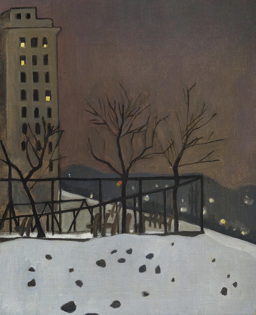 Alice Neel, Snow Scene