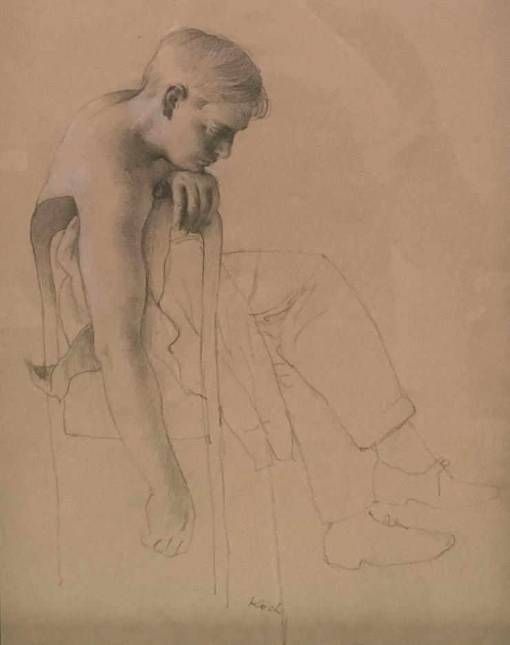 Koch, Boy Leaning on Chair.jpg