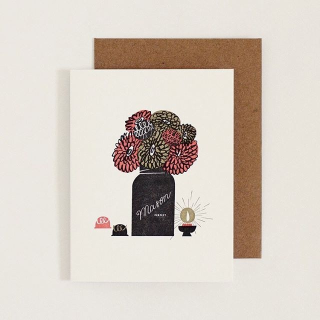 Still time to order your #mothersday card. Make her feel fancy! Link in bio.