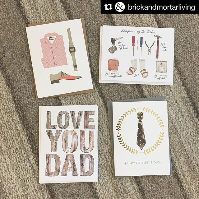 Summer has come to New Westminster, via @brickandmortarliving! ・・・ This weekend is all about the Dads! We've got cards and gift ideas for the big guy! • • • #locallove #handmade #fordad #fathersday #fathersday2017 #greetingcards #loveyoudad #shoplocal #shopnewwest #newwestminster #yvr