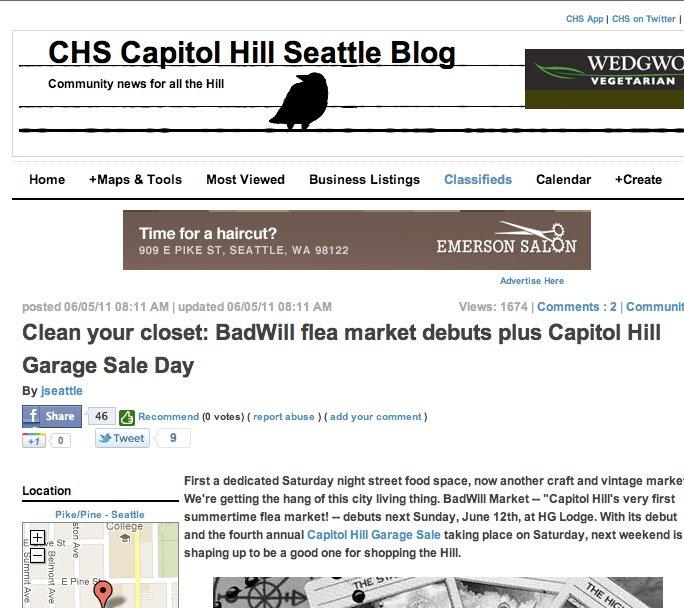 CAPITOL HILL BLOG // BADWILL MARKET