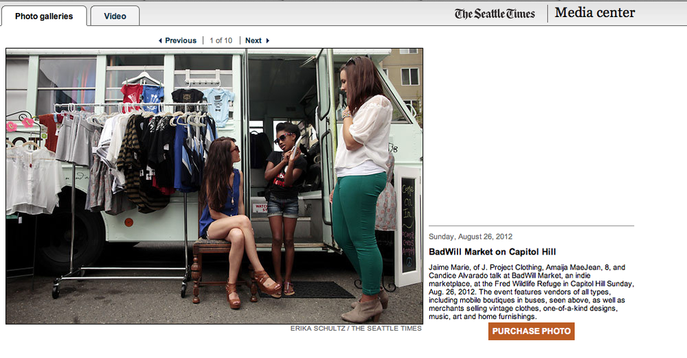 THE SEATTLE TIMES 2012 // BADWILL MARKET