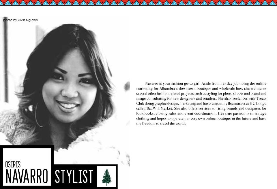 DLIST MAGAZINE // AWARDED STYLIST OF THE YEAR
