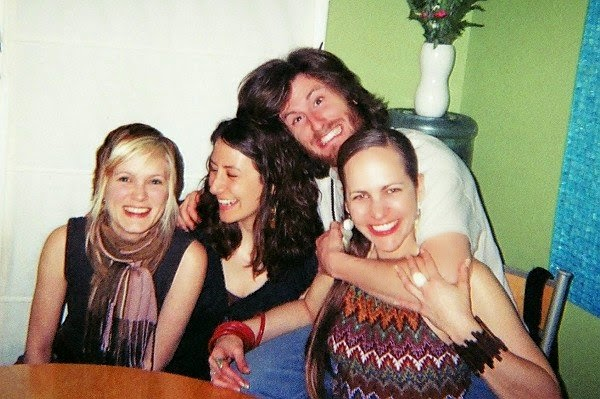 Sara, Destini, Keveen and I in 2007.