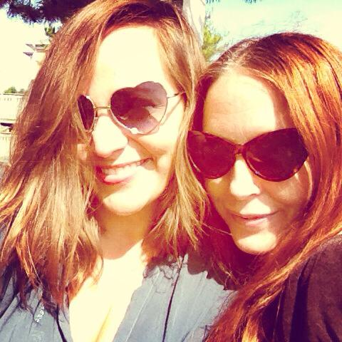More time with my bestie. I think we belong in California :)