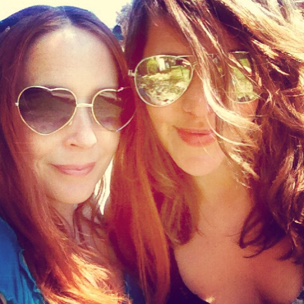 Sunshine, shades and best friends