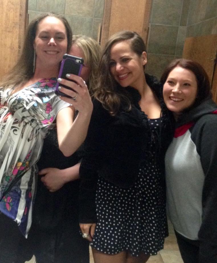 Pre-dance selfie