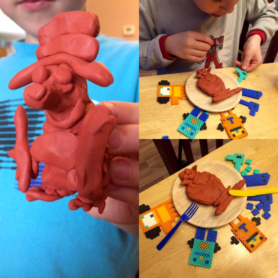 Clay creations with Liem
