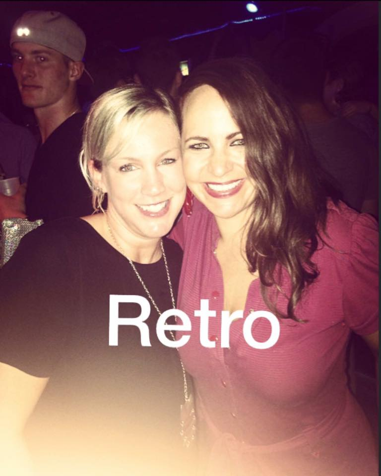 Retro night with Gayle!