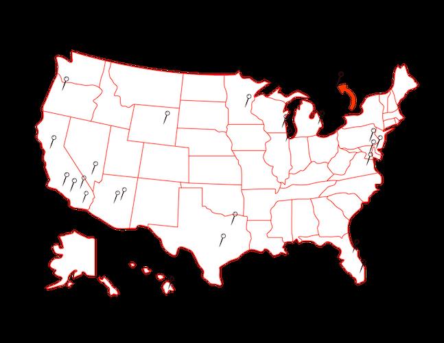 Ajenda PR Client Map