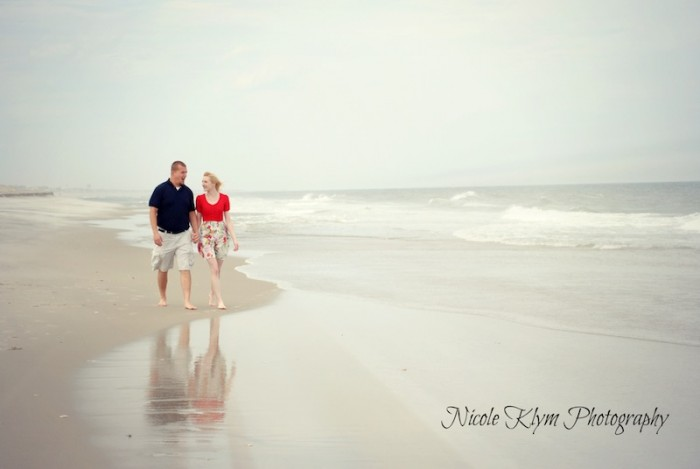 South Jersey Engagement Photographer - www.nicoleklym.com