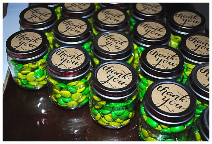 DIY Baby Shower Favors with M&M's