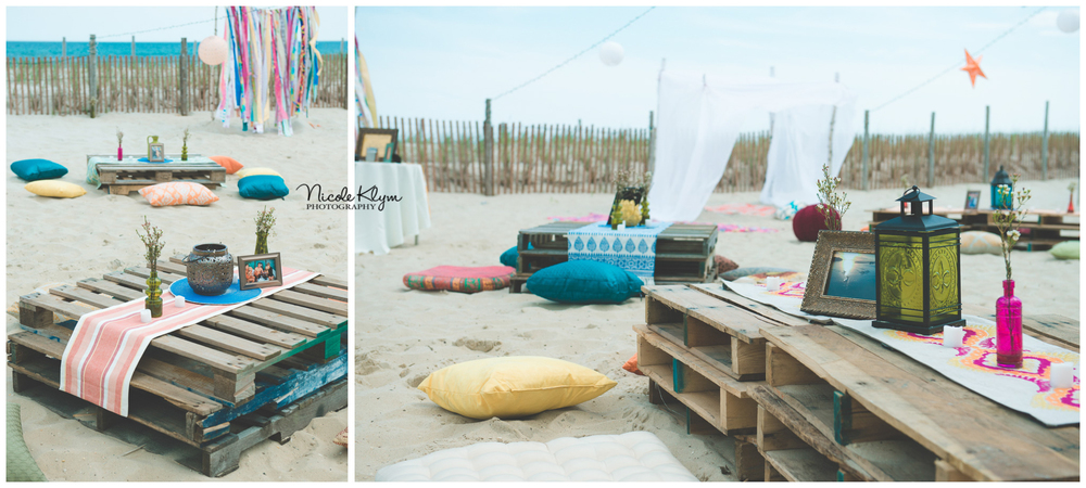 LBI Boho Beach Bridal Shower At The Sea Shell Resort