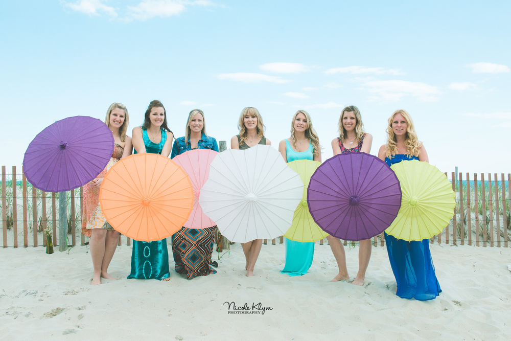 LBI Boho Beach Bridal Shower at The Sea Shell Resort | Nicole Klym Photography | www.nicoleklym.com