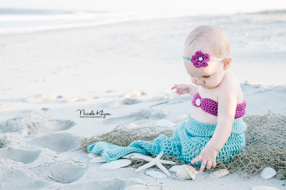 LBI Beach Photos | 6 Month Photos | Nicole Klym Photography | www.nicoleklym.com