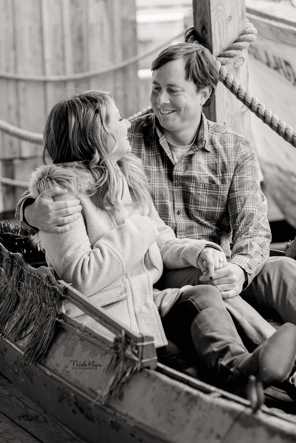 Tuckerton Seaport Engagement Photos | South Jersey Photographer | Nicole Klym Photography | www.nicoleklym.com