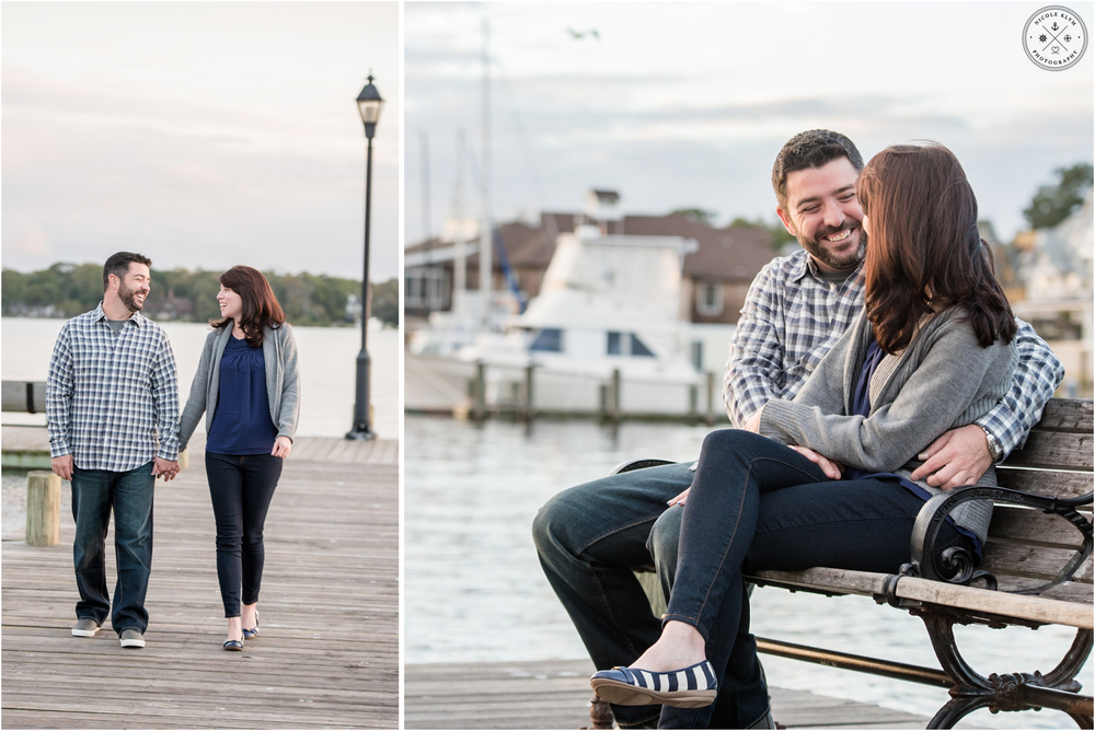 Island Heights Engagement Photos NJ