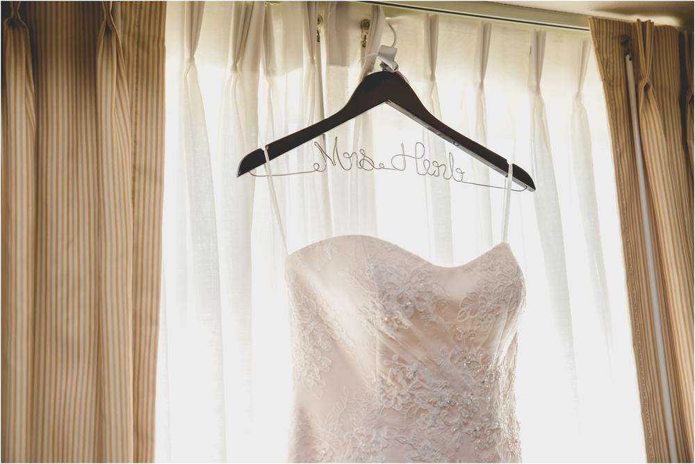 Wedding Dress at Scotland Run Golf Club Wedding in Williamstown, NJ
