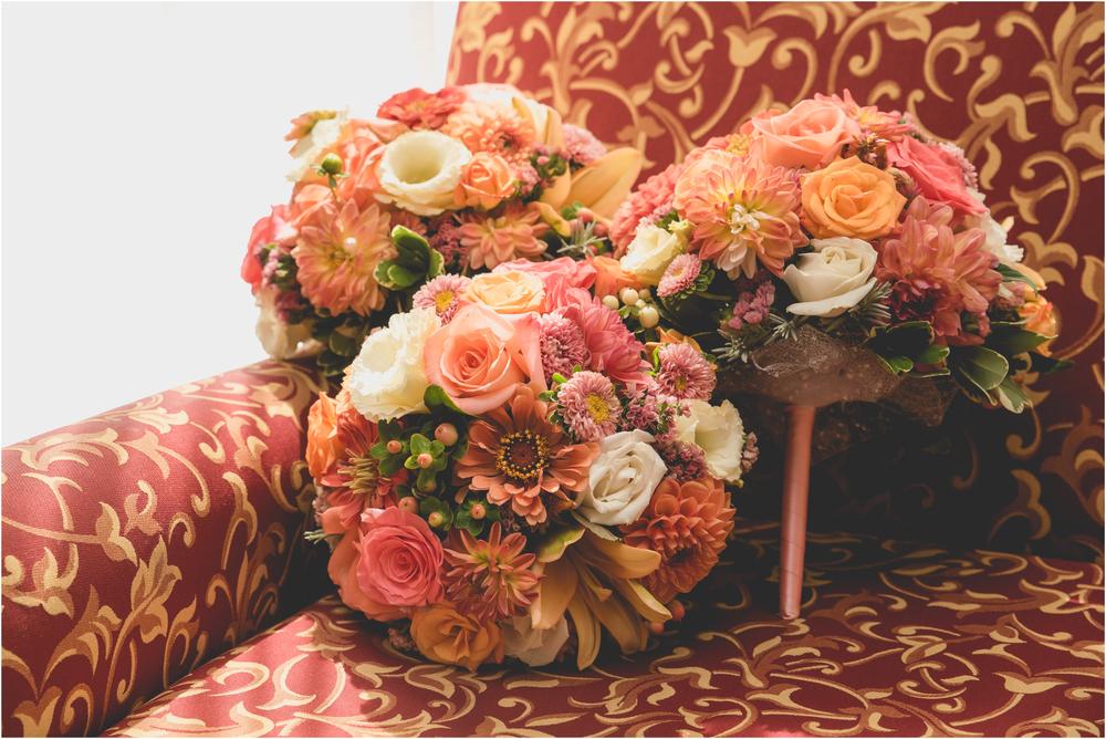 Florals at Scotland Run Golf Club Wedding in Williamstown, NJ