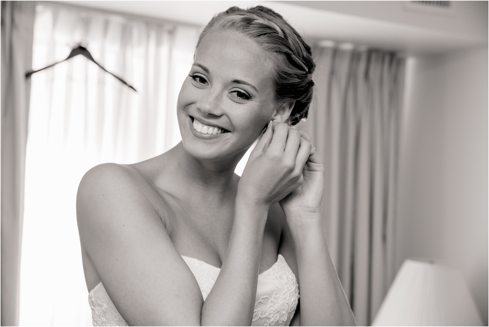 Bride getting ready at Scotland Run Golf Club Wedding in Williamstown, NJ