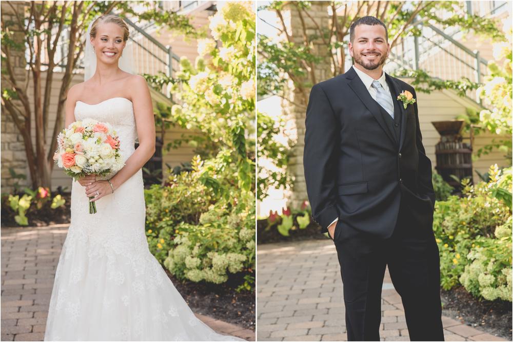 Bride and Groom at Scotland Run Golf Club Wedding in Williamstown, NJ