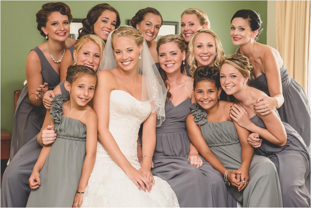 Bridesmaids at Scotland Run Golf Club Wedding in Williamstown, NJ