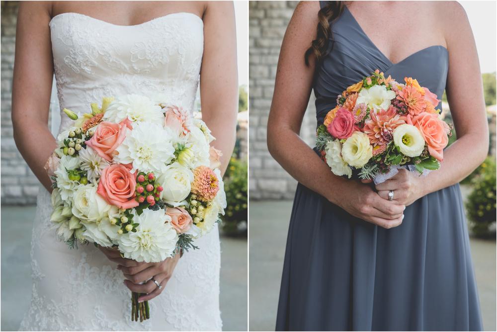 Wedding Flowers by Triple Oaks Nursery at Scotland Run Golf Club Wedding in Williamstown, NJ