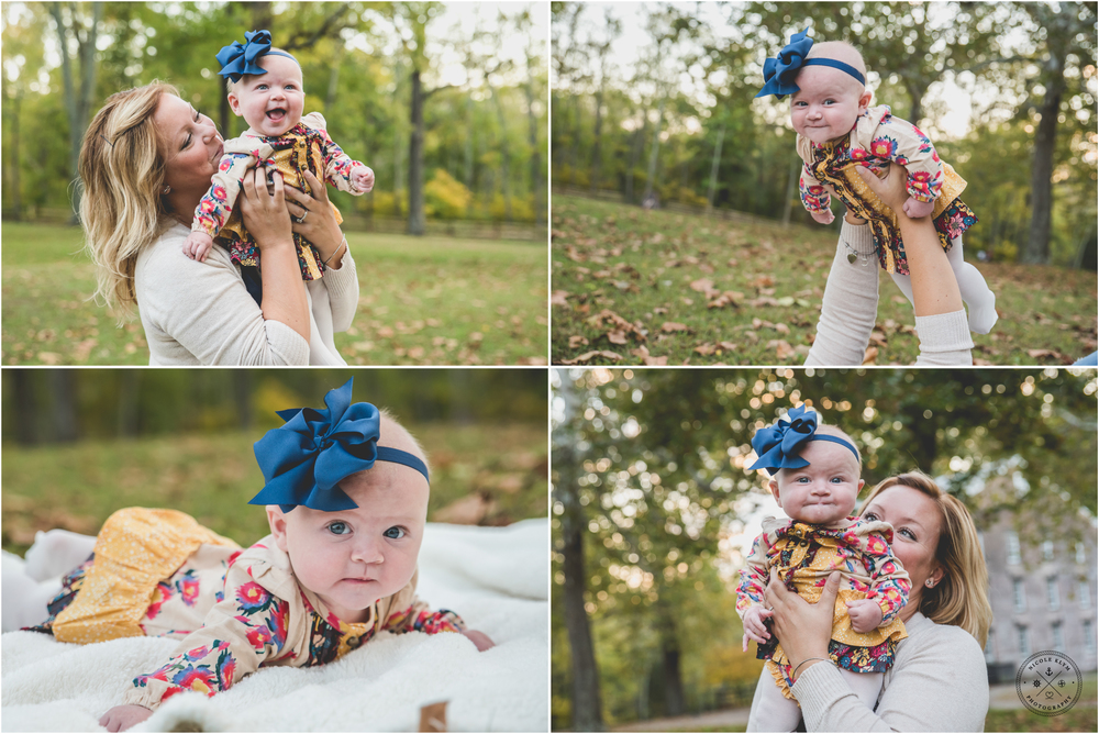 Fall Mommy and Me Photo Session at Allaire State Park