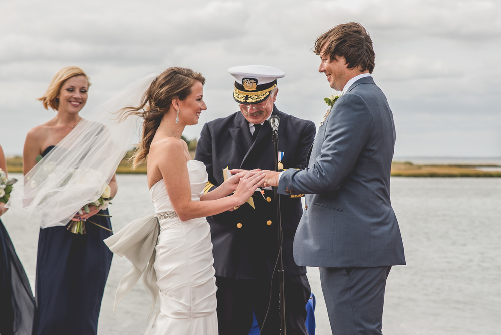 Beach Haven LBI Wedding Ceremony