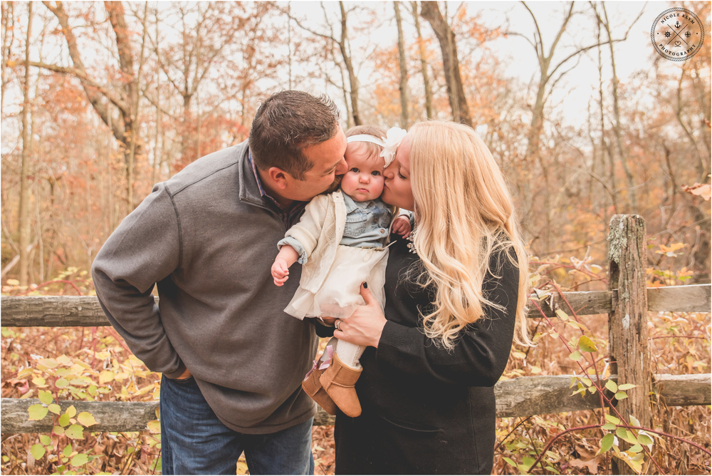 Fall Allaire State Park Family Photos