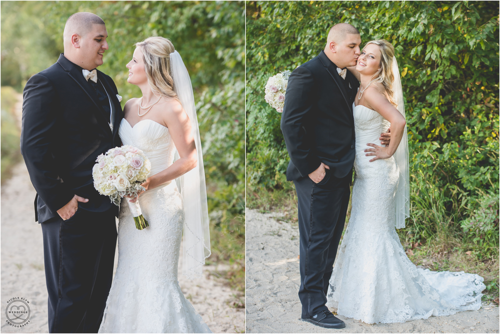 Pink and Grey Versailles Ballroom Wedding in Toms River, NJ