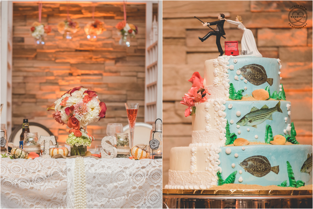 Vintage Fall Wedding at Cafe Madison in Riverside, NJ