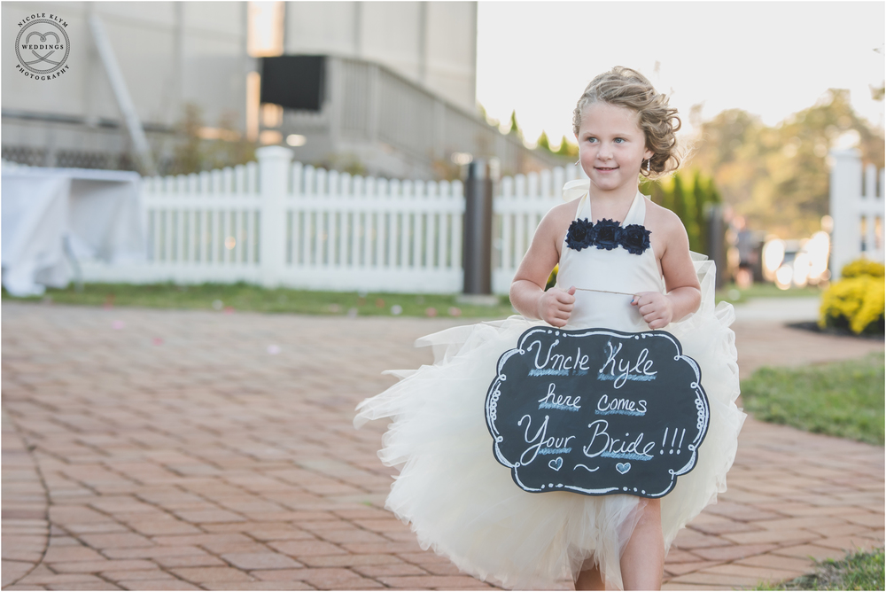 Nautical Navy Wedding at the Waters Edge in Bayville, NJ