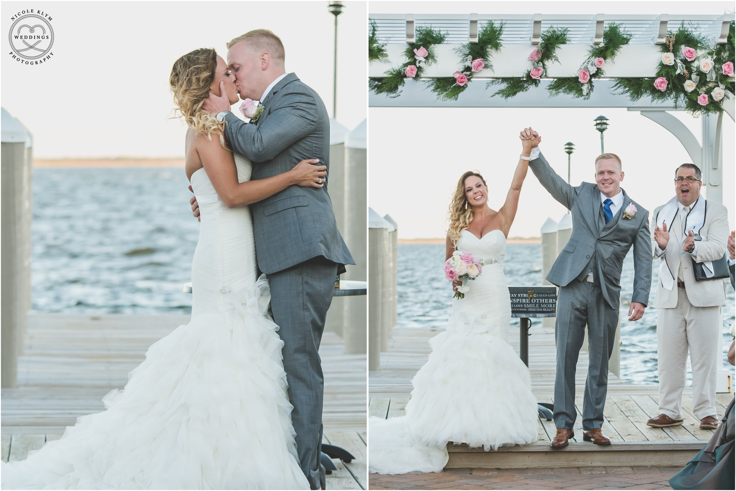 Nautical wedding at the waters edge meghan kyle nicole klym nautical navy wedding at the waters edge in bayville nj ombrellifo Choice Image