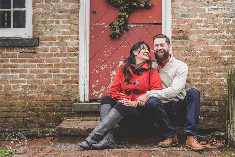Winter Allaire State Park Engagement Session
