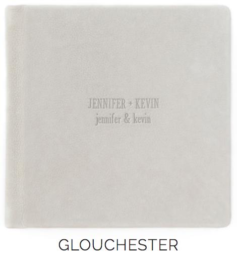 Debossing Glouchester