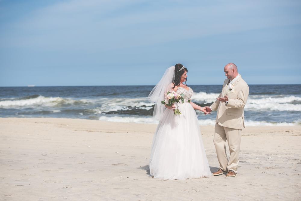 First Look at Doolan's Shore Club Wedding