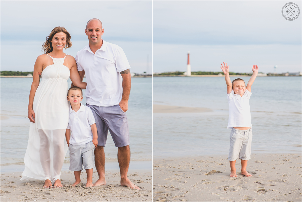 LBI Party Island Boating Family Session by Nicole Klym Photography