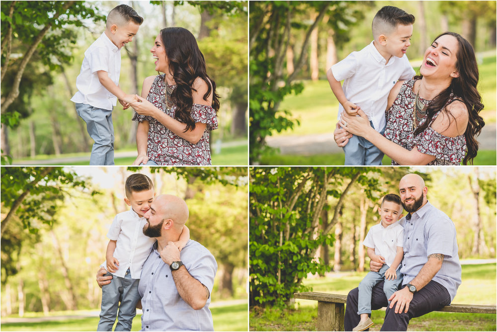 Monmouth County, NJ Spring Family Photos at Allaire State Park by Nicole Klym Photography