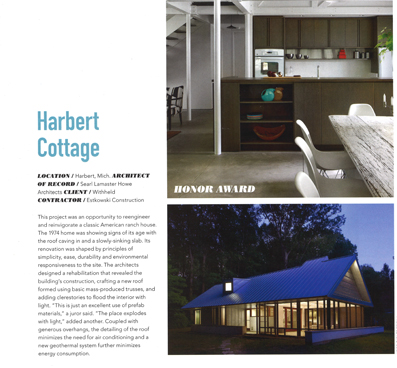 CHICAGO ARCHITECT HARBERT COTTAGE